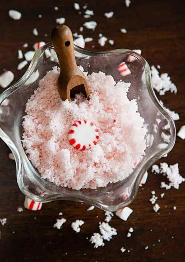 3 Ingredient Peppermint Sugar Scrub Recipe