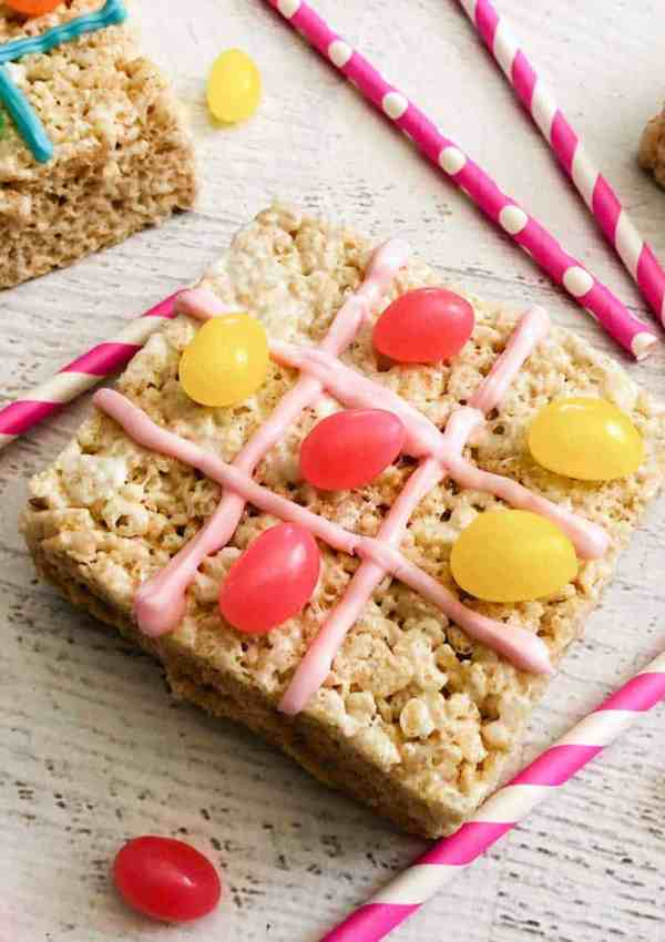 Rice Krispies Tic Tac Toe Treats