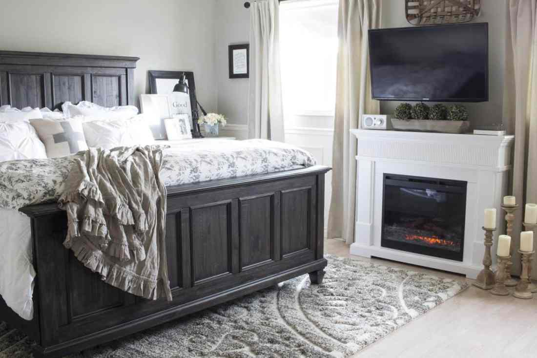 Dean and Shannon's bedroom reveal