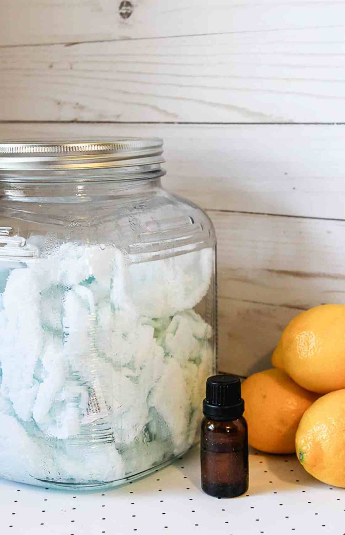 If you want to learn how to make disinfectant wipes, then you will love this recipe for REUSABLE DIY Clorox Wipes! They even smell lemony-fresh!