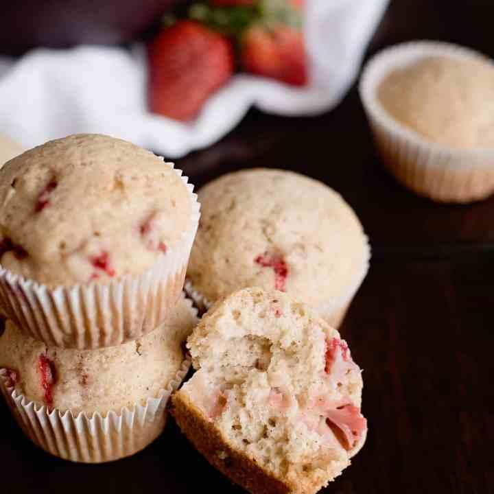 Fresh Strawberry Muffin Recipe