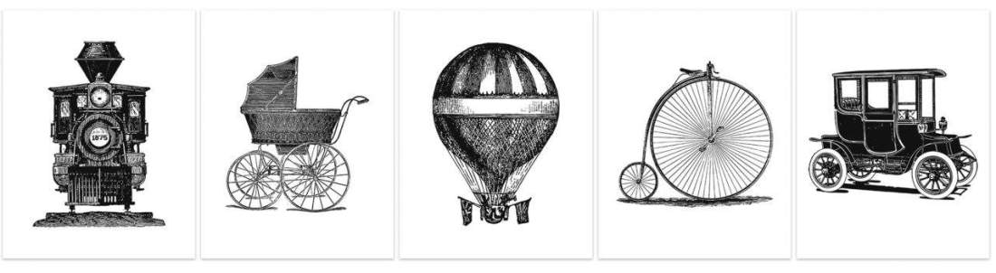 5 free black and white summer printables for blog