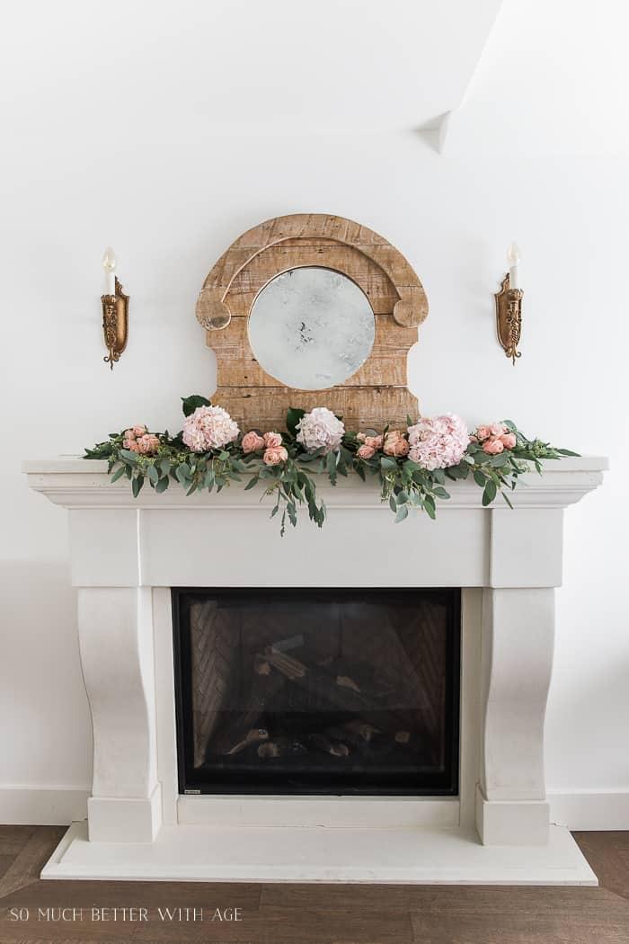 Jamie's fireplace