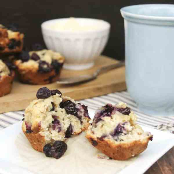 blueberry oat muffins recipe