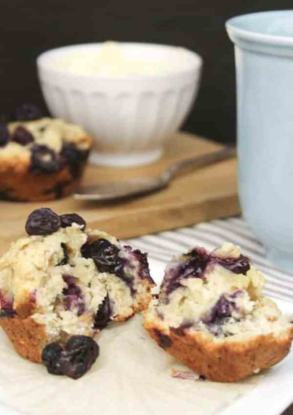 Blueberry Oat Muffins – A Yummy, Healthy Breakfast Muffin Recipe