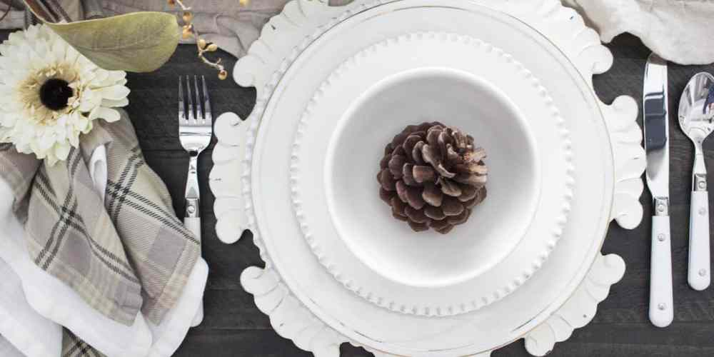 how to create no fuss pretty table settings