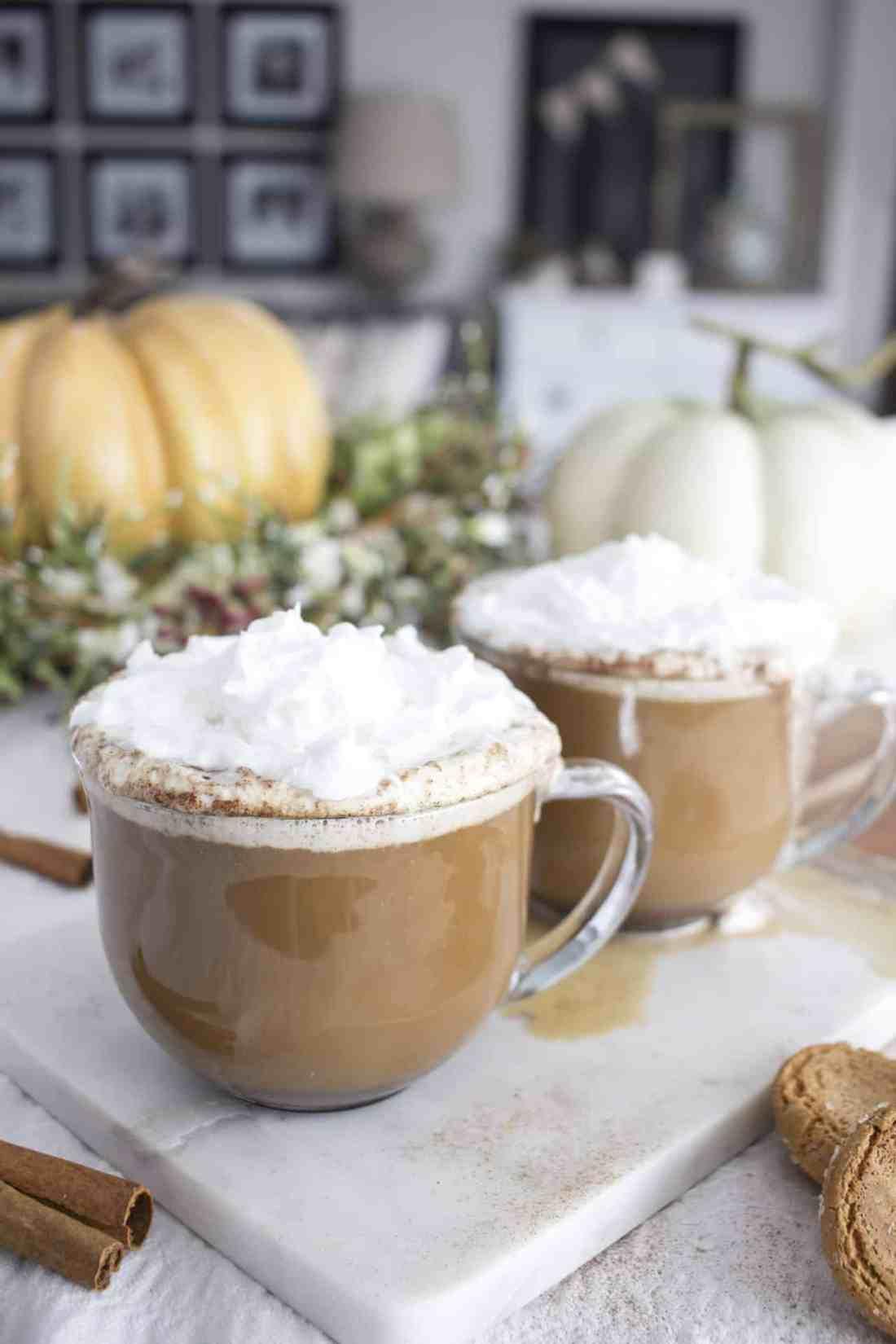 Spiced Vanilla Latte Recipe