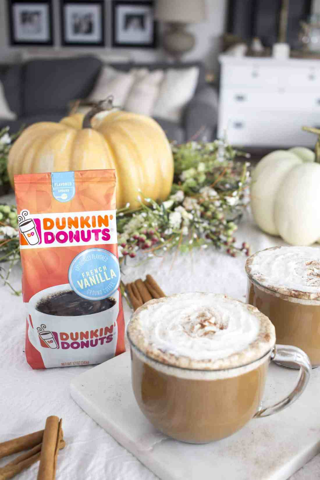 Spiced Vanilla Latte with Dunkin Donuts at Walmart