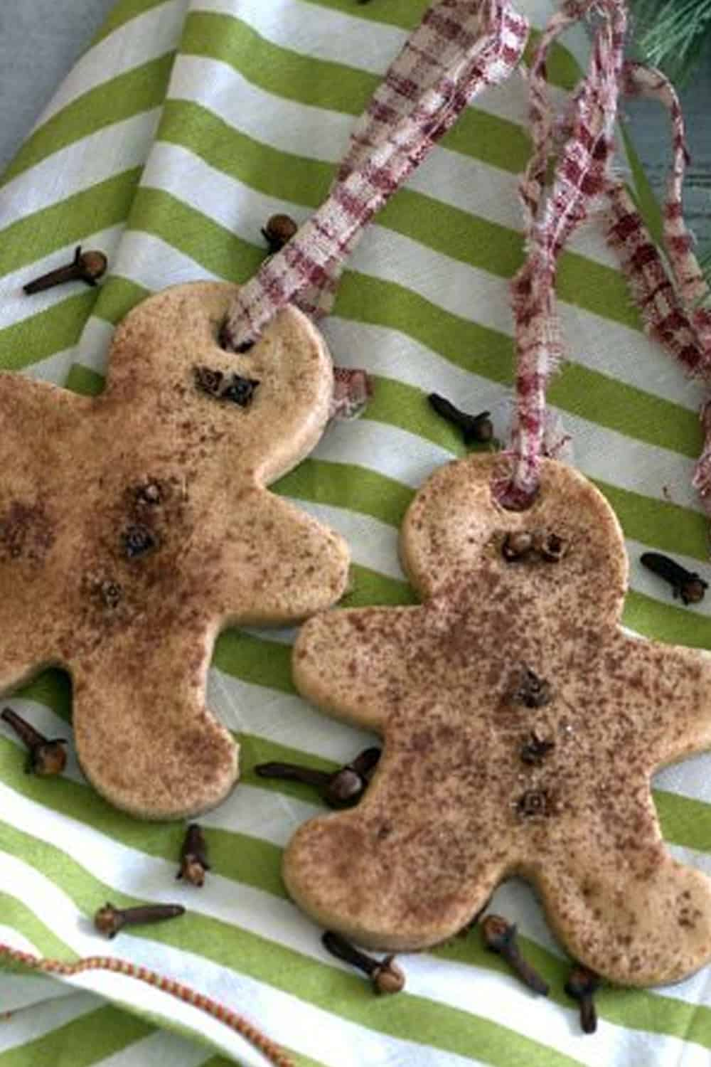 how to make your own authentic gingerbread salt dough ornaments. Black Bedroom Furniture Sets. Home Design Ideas