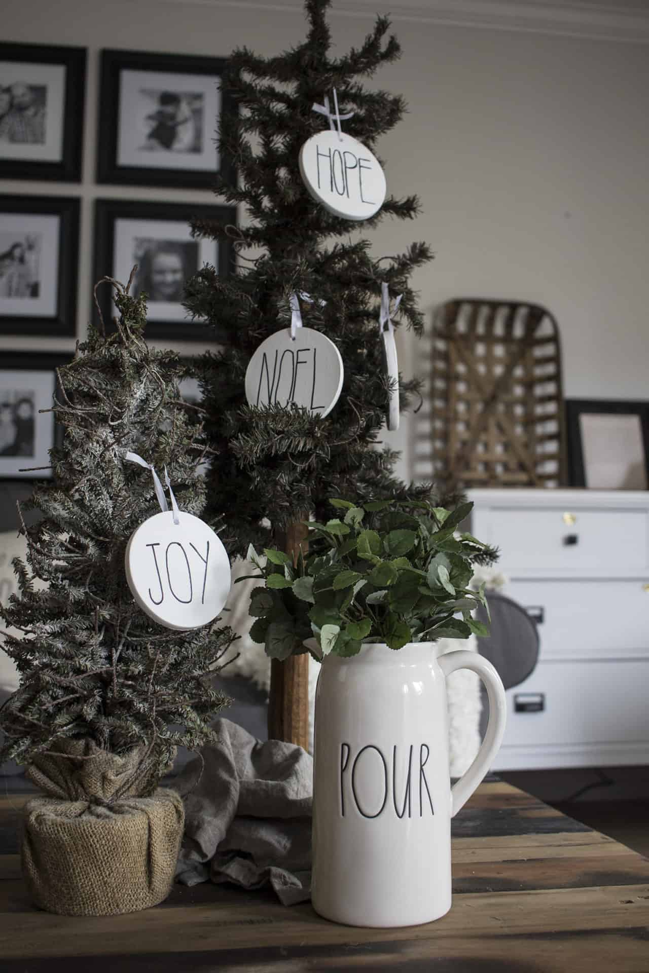 How To Make Rae Dunn Ornaments With A Sharpie