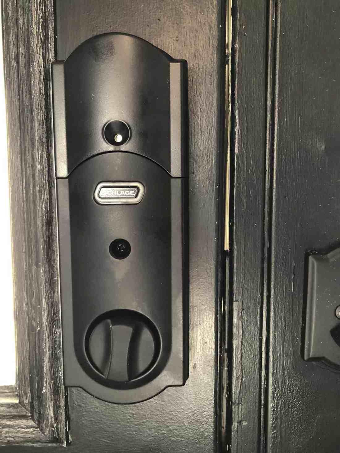 Detail of interior lock