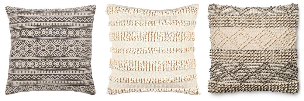 boho accent pillows