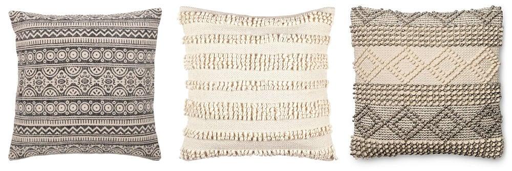 Where I Found All Our Boho Farmhouse Style Throw Pillows