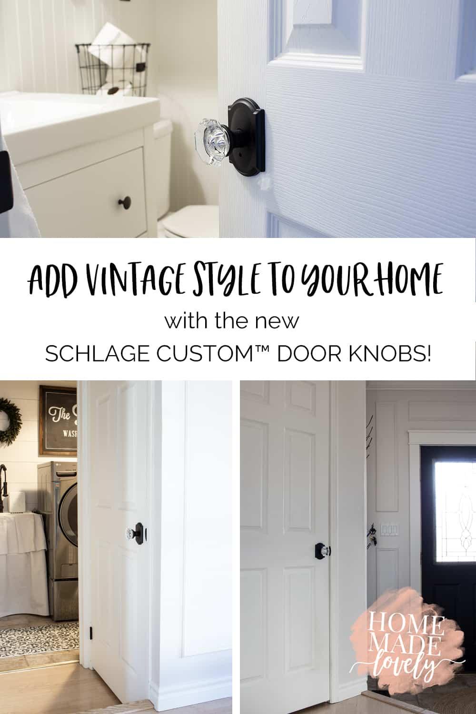 Schlage Custom Door Knobs pin