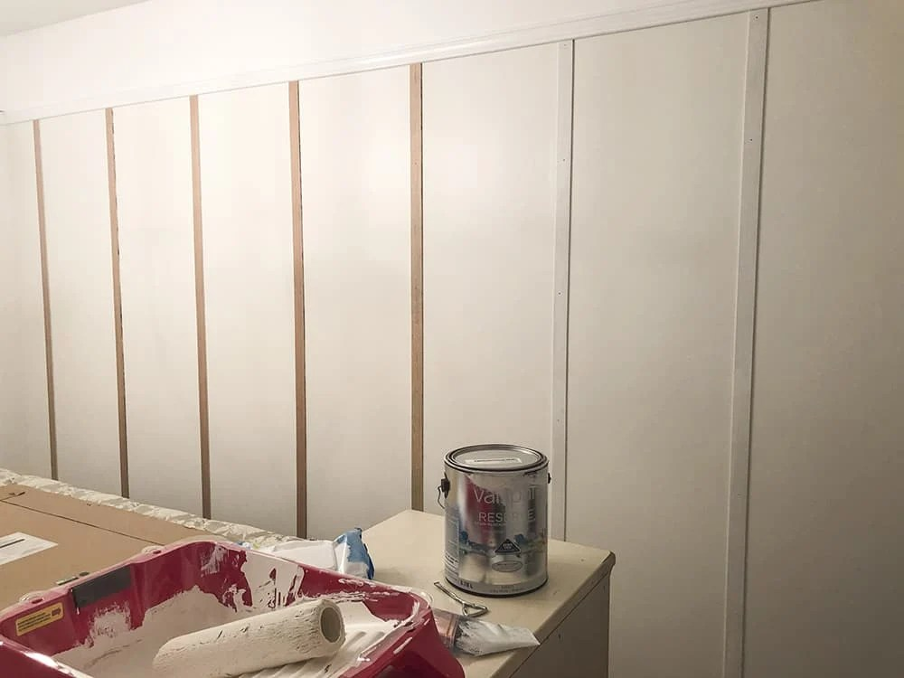 painting battens