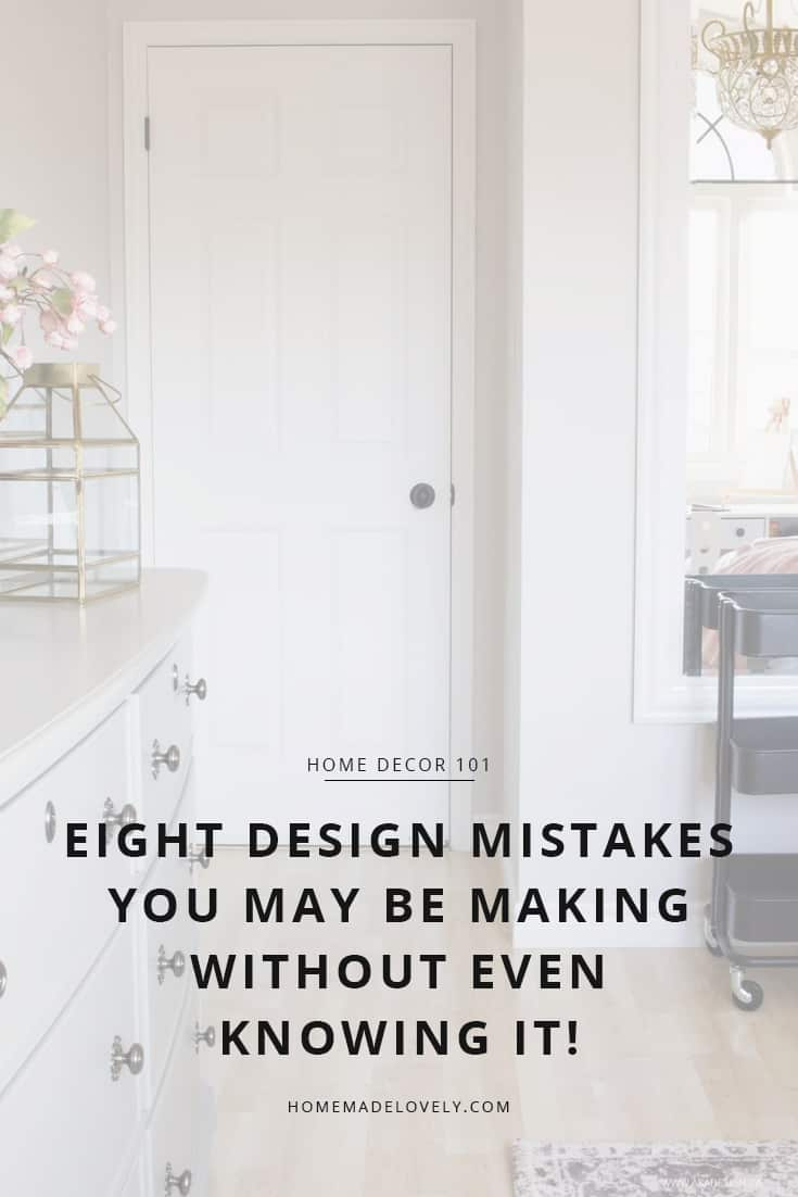 how to fix design mistakes