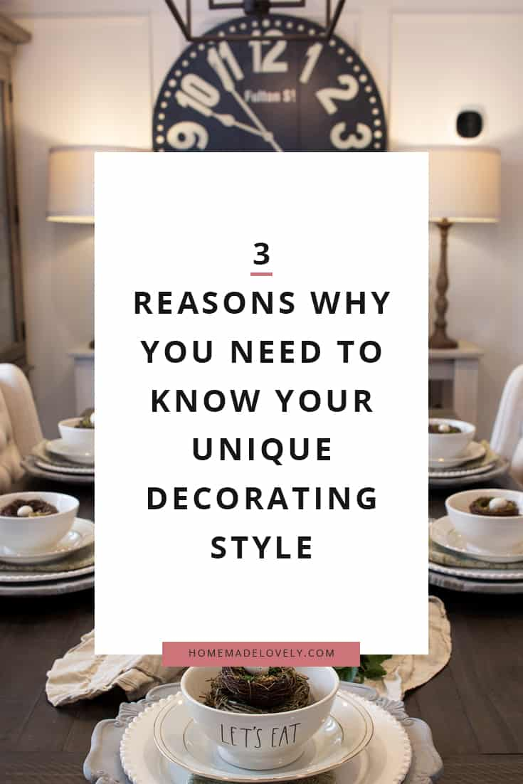 you have a unique decorating style - find out what it is!