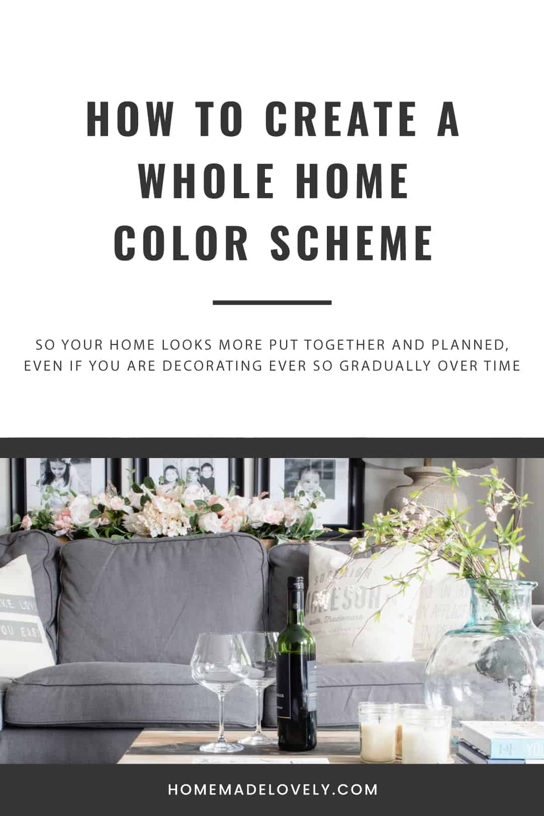 How to create a whole home color scheme