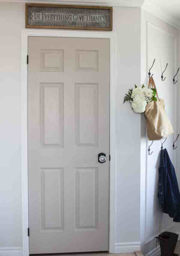 Get a Beautiful Designer Look When You Paint Your Interior Doors!