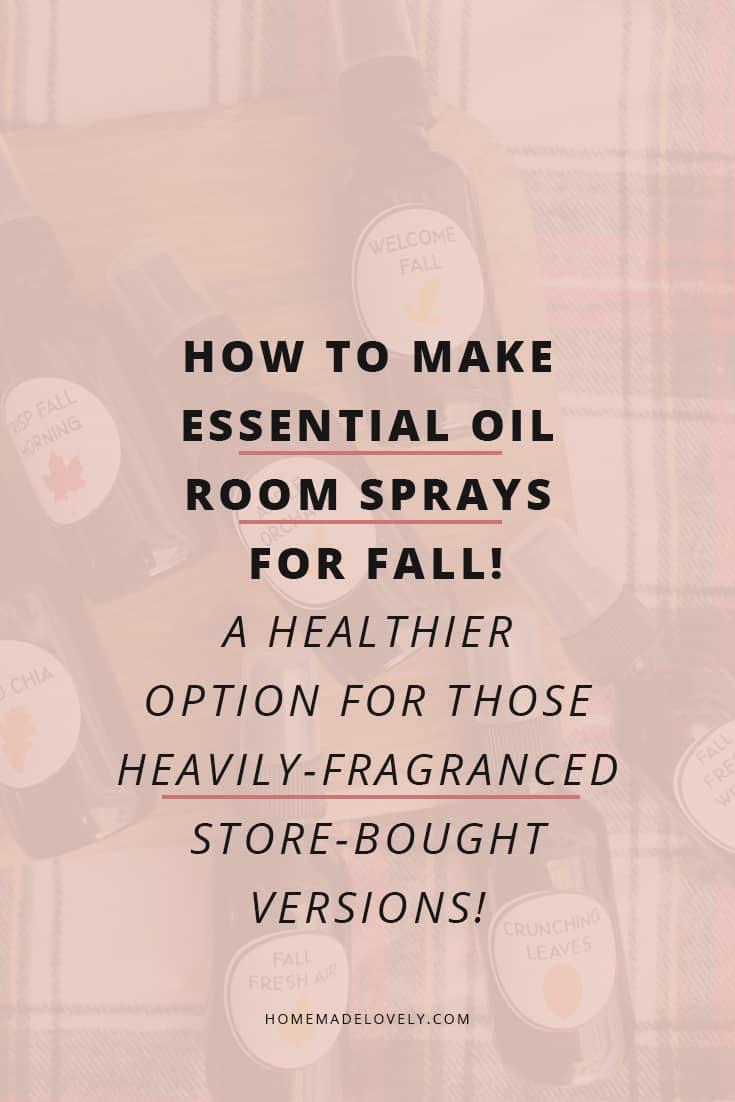 make essential oil room sprays