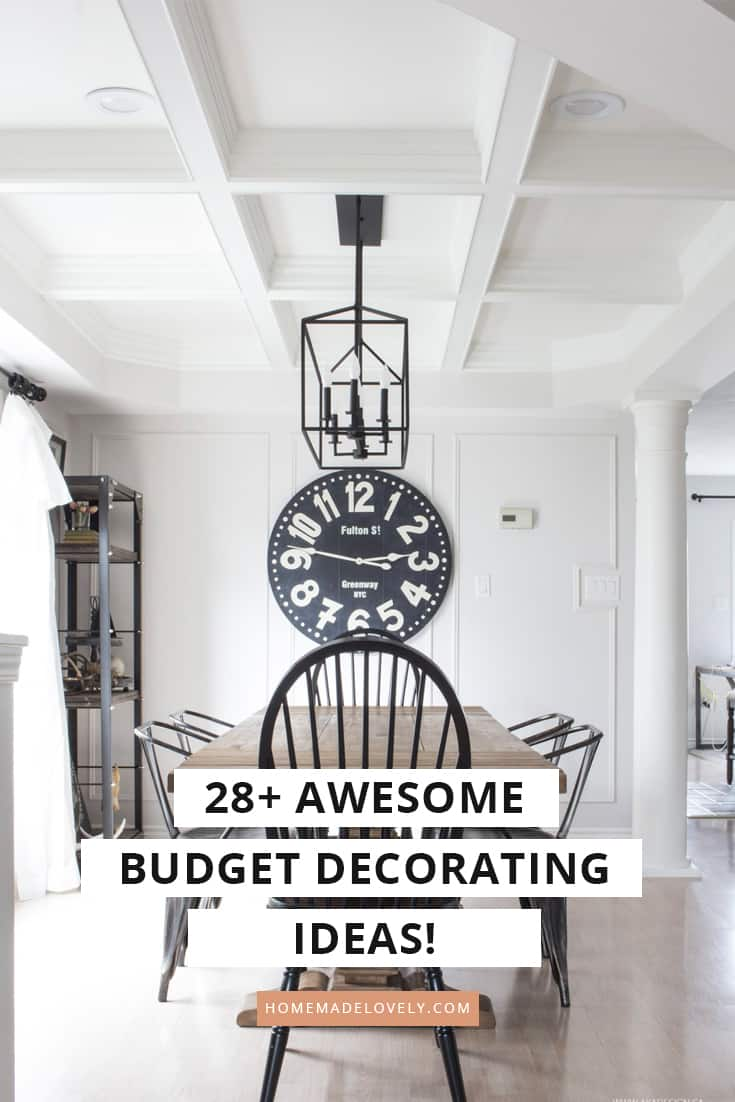 budget decorating ideas