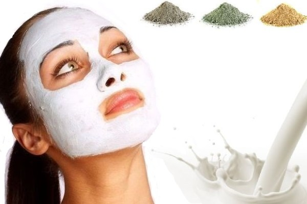 Face Mask For Combination Skin with Milk and Clay