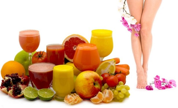 Homemade Miracle Juice for cellulite