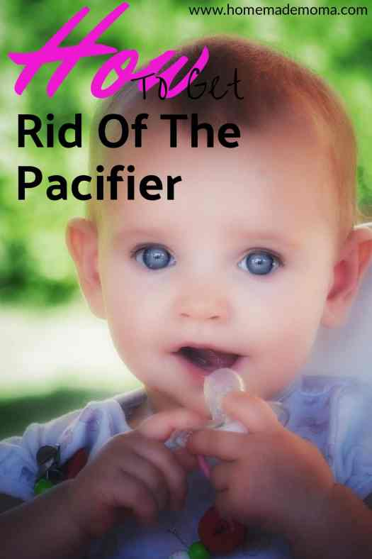 Getting rid of pacifier