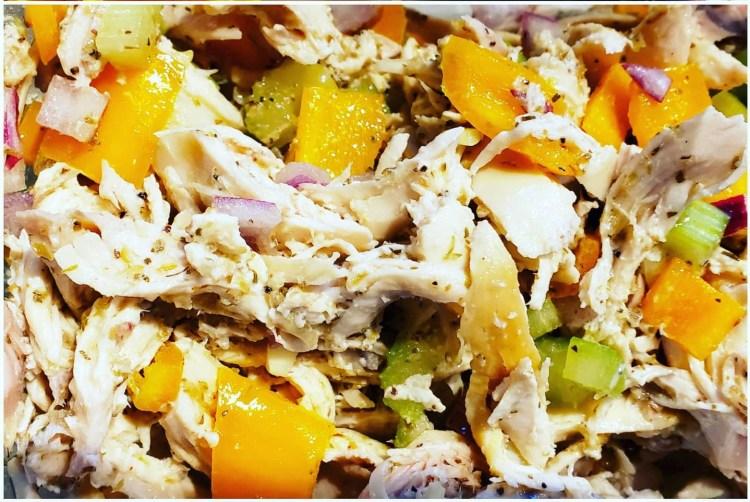 Healthier Chicken Salad