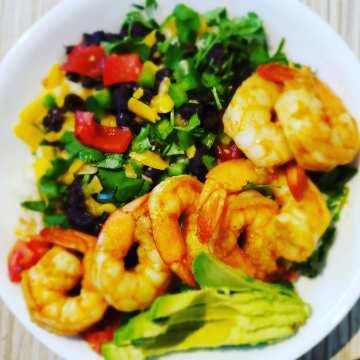 Shrimp Burrito Bowl