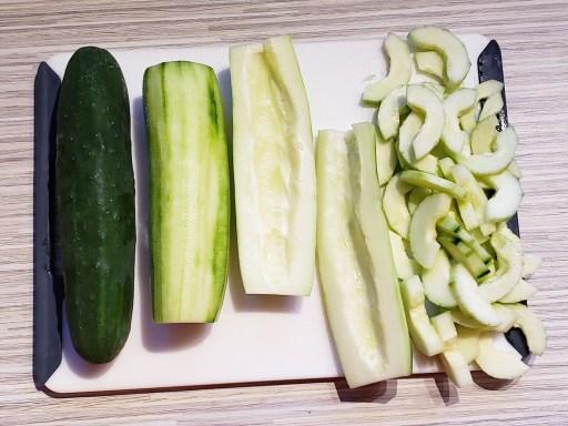 Cucumber Preparation