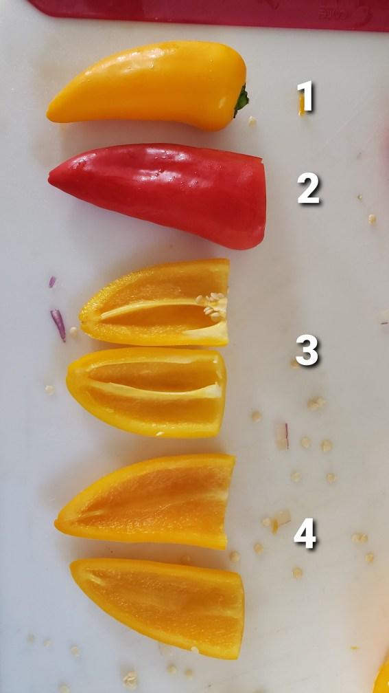 Sweet Pepper Preparation