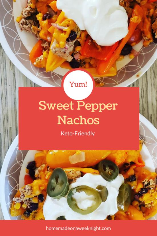 Sweet Pepper Nachos