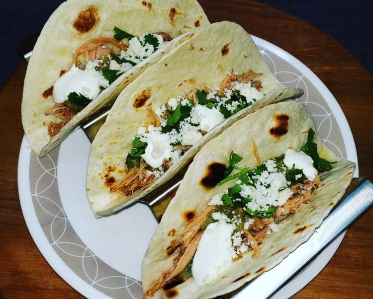 Verde Pork Tacos