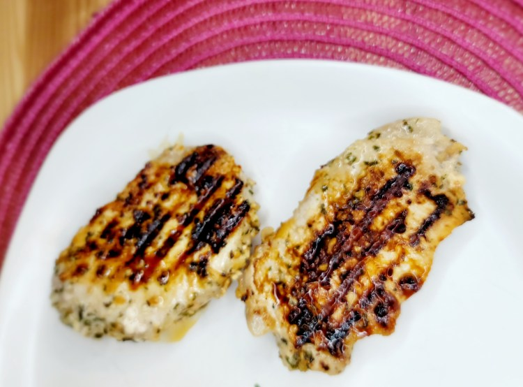 Lemon Garlic Grilled Pork Chops