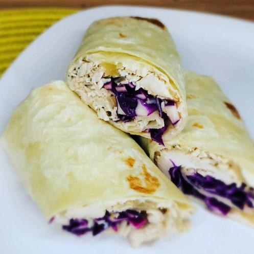 Turkey & Sweet Onion Wraps