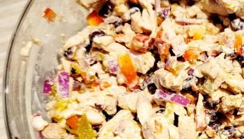 Tex Mex Chicken Salad Wrap