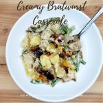 Creamy Bratwurst Casserole
