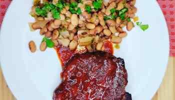 Cherry Bourbon Grilled Pork Chops