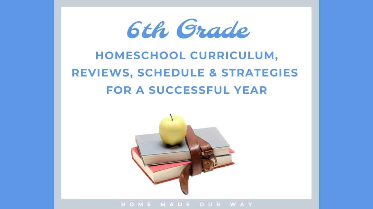 hight resolution of 6th-Grade Schedule for Homeschool - Strategies You Can Use