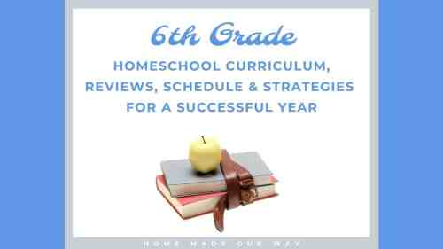 small resolution of 6th-Grade Schedule for Homeschool - Strategies You Can Use