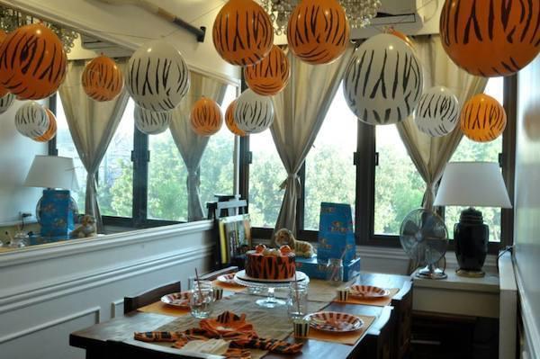 Jose's Tiger Birthday Party