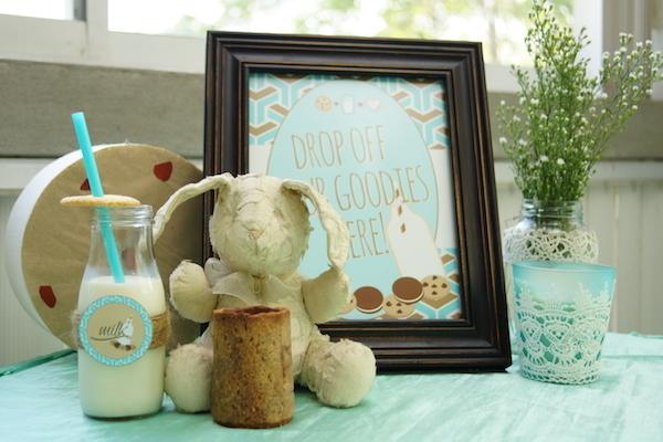 Lucas' Cookies and Milk DIY Party19