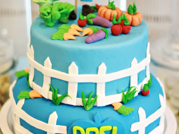 Drei's Peter Rabbit Baptismal Party