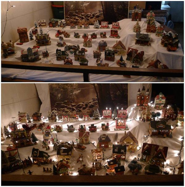 Homemade Parties Christmas House25