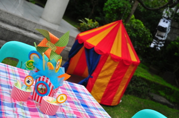 Homemade Parties DIY Party_Circus Party_Vito10