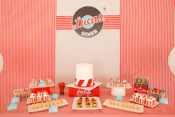 Homemade Parties_DIY Party_50s Diner Party_Lucas04
