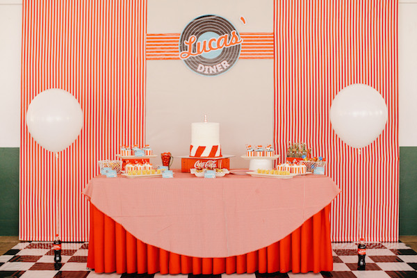 Lucas' 50s Diner Party, Part 1