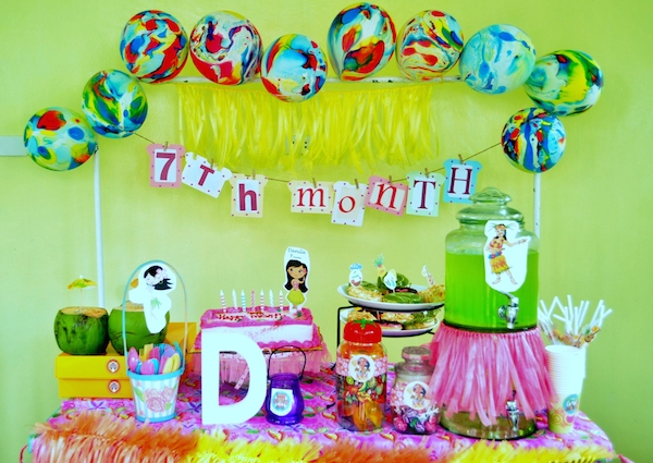 Danila's Monthly Themed Parties
