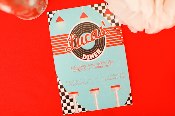 Homemade Parties_DIY Party_50s Diner Party_Lucas68